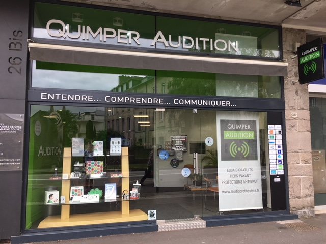 Les bouchons d'oreilles sur mesure dans vos centres de Quimper et Pont l'Abbé Audition